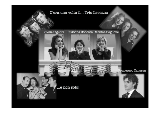 C'era una volta il trio LescanoLocandina