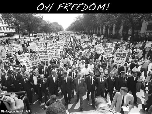 Oh Freedom Locandina